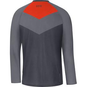GORE WEAR C5 Trail Long Sleeve Jersey Men terra grey/orange